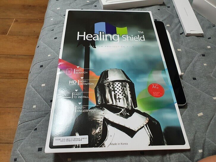 Healing Shield Paper Texture Tempered Glass Tablet LCD Protective Film